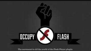 Occupy Flash website