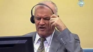 Picture of General Ratko Mladic released by the International Criminal Tribunal for the former Yugoslavia, 4 July 2011