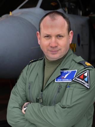 Gp Capt Peter Rochelle, RAF Marham