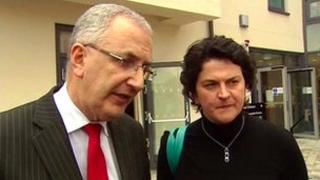 Danny Kennedy and Arlene Foster