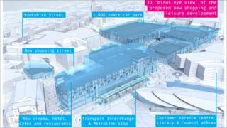 Plans for Rochdale town centre