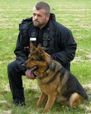 PC Carl Ellis and Guinness