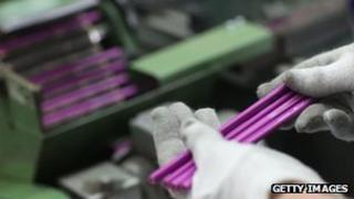 German pencil factory