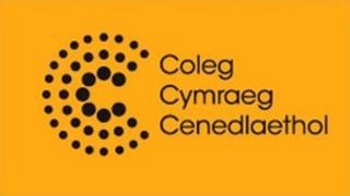 Logo Coleg Cymraeg Cenedlaethol