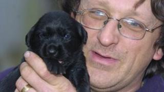 John Warwick-Huckvale of Swindon and District Animal Haven