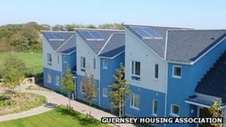 New housing in Guernsey
