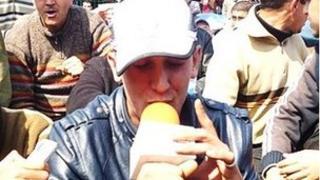 Undated photo of rapper Mouad Belrhouate
