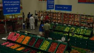Wal-Mart cash and carry store in Ludhiana, Punjab