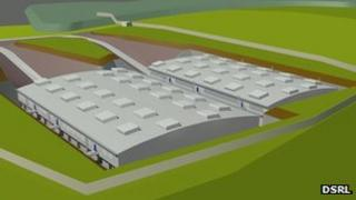 Dounreay low-level waste store. Pic: DSRL