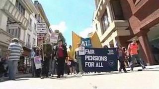 Strike in June 2011