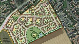 Sleaford housing plan