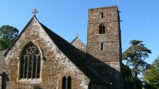 Canford Magna Parish Church