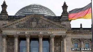 German parliament - Reichstag - in Berlin, file pic
