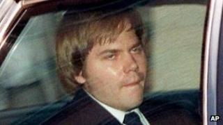 John Hinckley file picture 1987