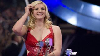 Swimmer Rebecca Adlington at the BBC Sports Personality of the Year Awards 2008