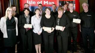 Isle of Man Tourism Awards winners and judges