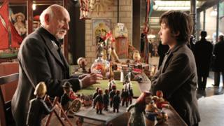 Sir Ben Kingsley (left) and Asa Butterfield star in Hugo
