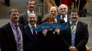 MSPs grow moustaches
