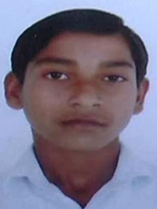 Neeraj Kumar who was killed for not changing his name. Photo: Satish Srivastava