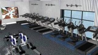 New gym at Brandon Leisure Centre