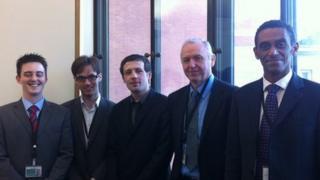 James Wallace, Matthew Baird, Luke Shaw-Harvey, Alan Kean, Derek Sewell