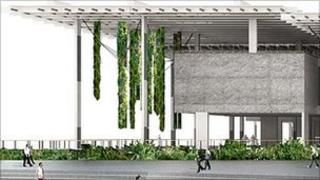 Artist's impression of new Jorge M Perez Art Museum