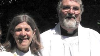 Reverends Mary and David Dunn