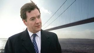 George Osborne and the Humber Bridge