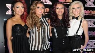 X Factor 2011 finalists Little Mix