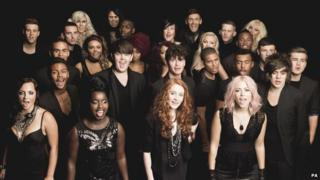 The X Factor 2011 final 16 acts