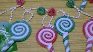 Lollipop tree decorations