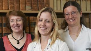 Janet Baker, Dr Karly Kehoe and Dr Elizabeth Ritchie