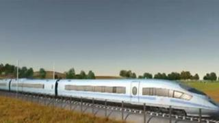 High speed rail link