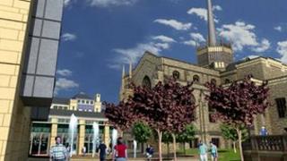 Blackburn Cathedral quarter plan
