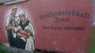 Mural in the village of Jamel