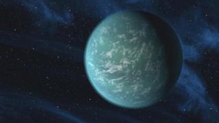 Kepler-22b - artist's impression
