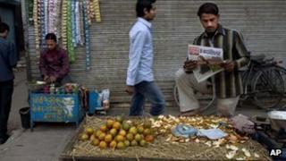 Vendor in Delhi, 7 Dec