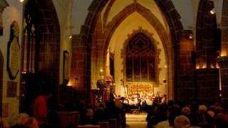 BBC Radio Jersey's 2011 Carol Service at the Town Church