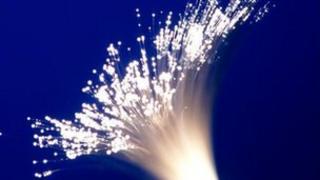 Bunch of fibre-optic cables