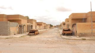 Tawergha - November 2011. Tarik Kafala