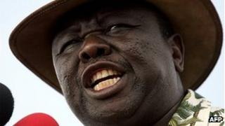 Morgan Tsvangirai (27 March 2008)