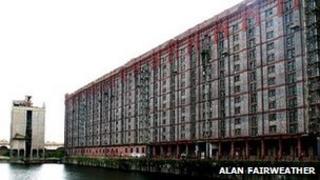 Tobacco Warehouse Stanley Dock courtesy of Alan Fairweather