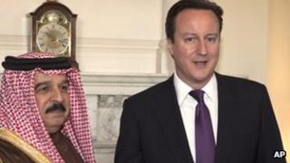 King of Bahrain meets UK PM