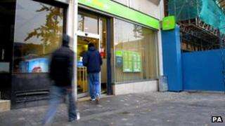Young people at Jobcentre Plus