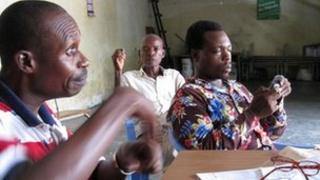Deaf people in Kinshasa (December 2011)