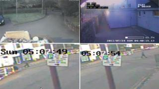 New CCTV images