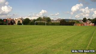 Lauder recreation ground - pic by Walter Baxter/ Geograph