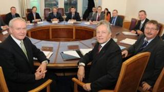The first and deputy first ministers led the discussions on corporation tax