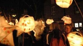 Dorchester Arts' annual Lantern Parade