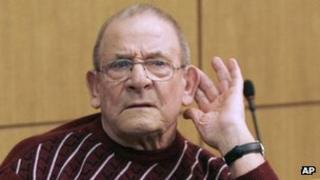 Heinrich Boere in court (March 2010)